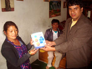 Distribution of TULIP Water Filter in SLUM areas.