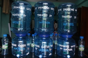 Water Dispensaries and Jars to Distribute inSchool
