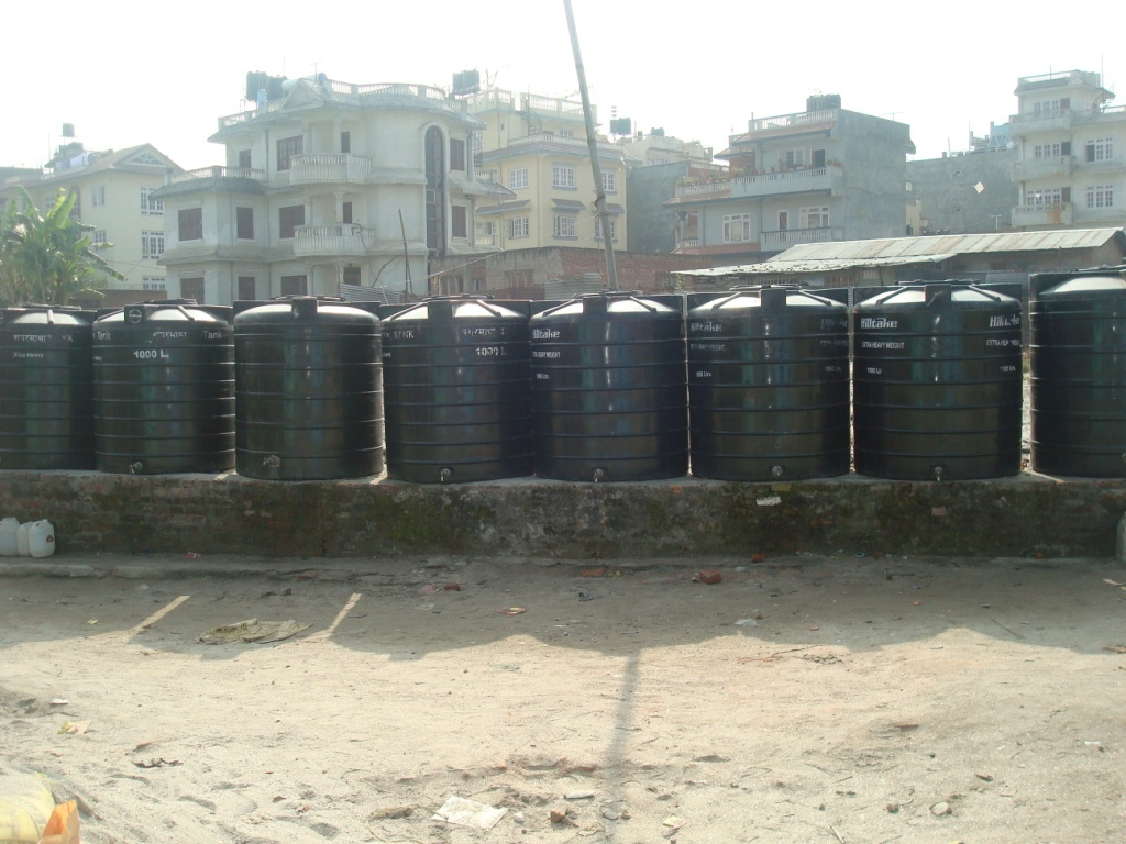 Water Storage and Distribution in Slum areas