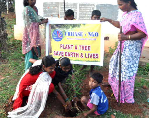 Plant a tree: save earth & lives