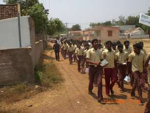 Awareness on climate change to school children