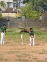 Sports equipment funded by this project