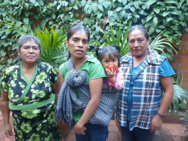 Marcellina, Edith, Baby Serena, and Edith Inez