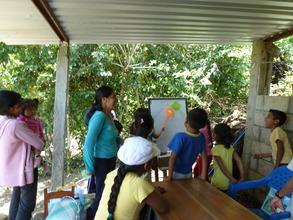 Edith's literacy class