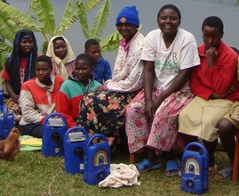 Lifeline radios bring access to information for child heads of h