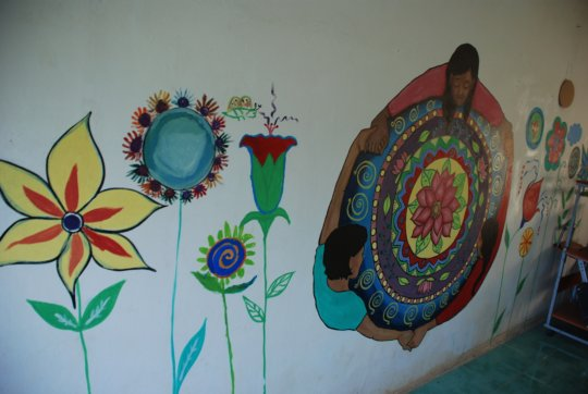 Art work done by the women/girls.