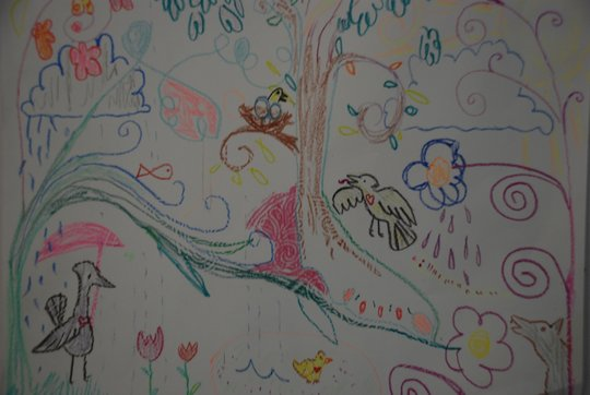 Art therapy project produced at the CTC program