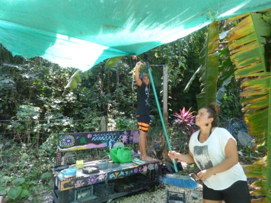Garden space preperations