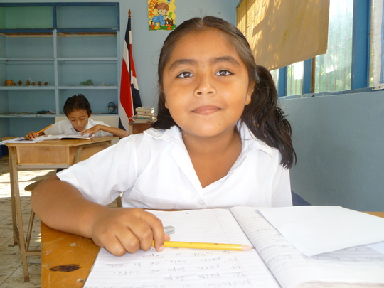 Local student Mal Pais Costa Rica