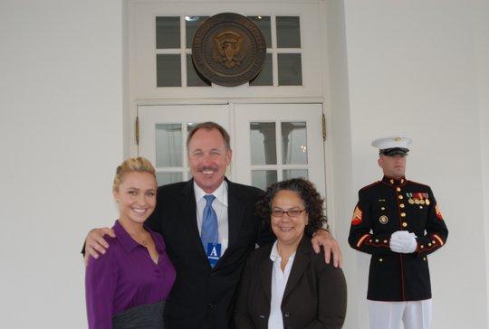 Hayden, Jeff, & CEQ Chair Nancy Sutley