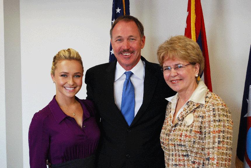 Hayden, Jeff, & Dr. Jane Lubchenco of NOAA