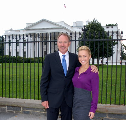 Hayden & Founder Jeff Pantukhoff at White House