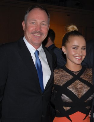 Hayden Panettiere & Jeff Pantukhoff at EMA Awards