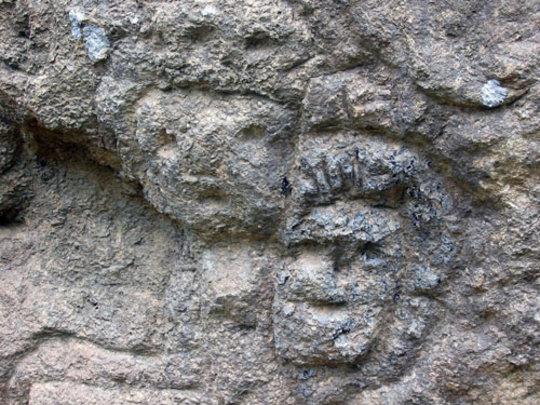 Petroglyphs at El Farallon National Monument