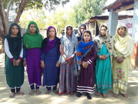Women group in village Rano Kolhi