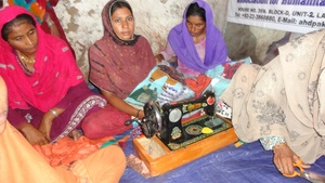 Girls started learning at Tando Hyder sewing ce