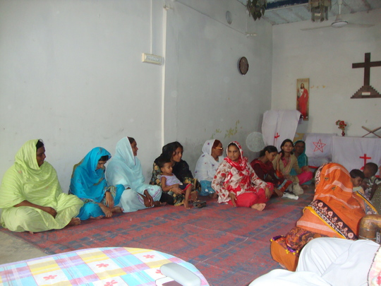 women in meeting at Local Church