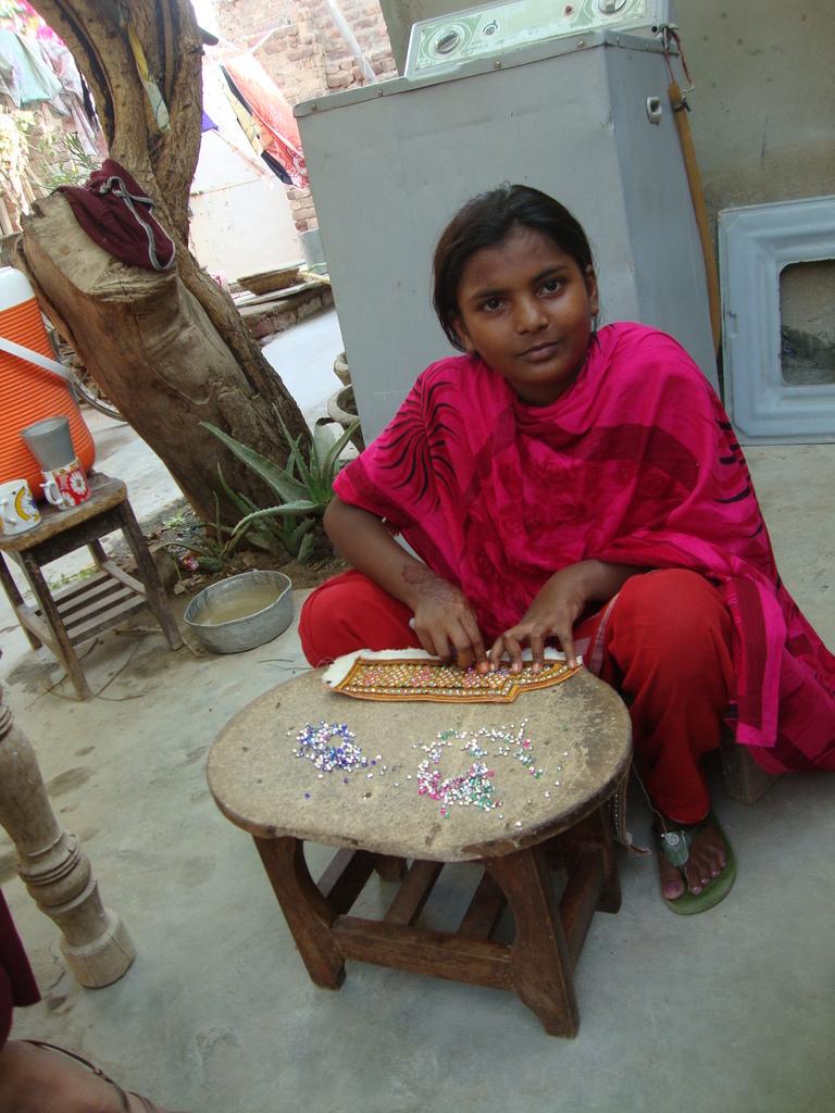 Hand embriodry on Sindhi Topi