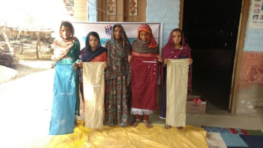 Cloths made by young women
