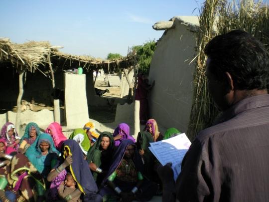 Women of village Ismail Odhejo