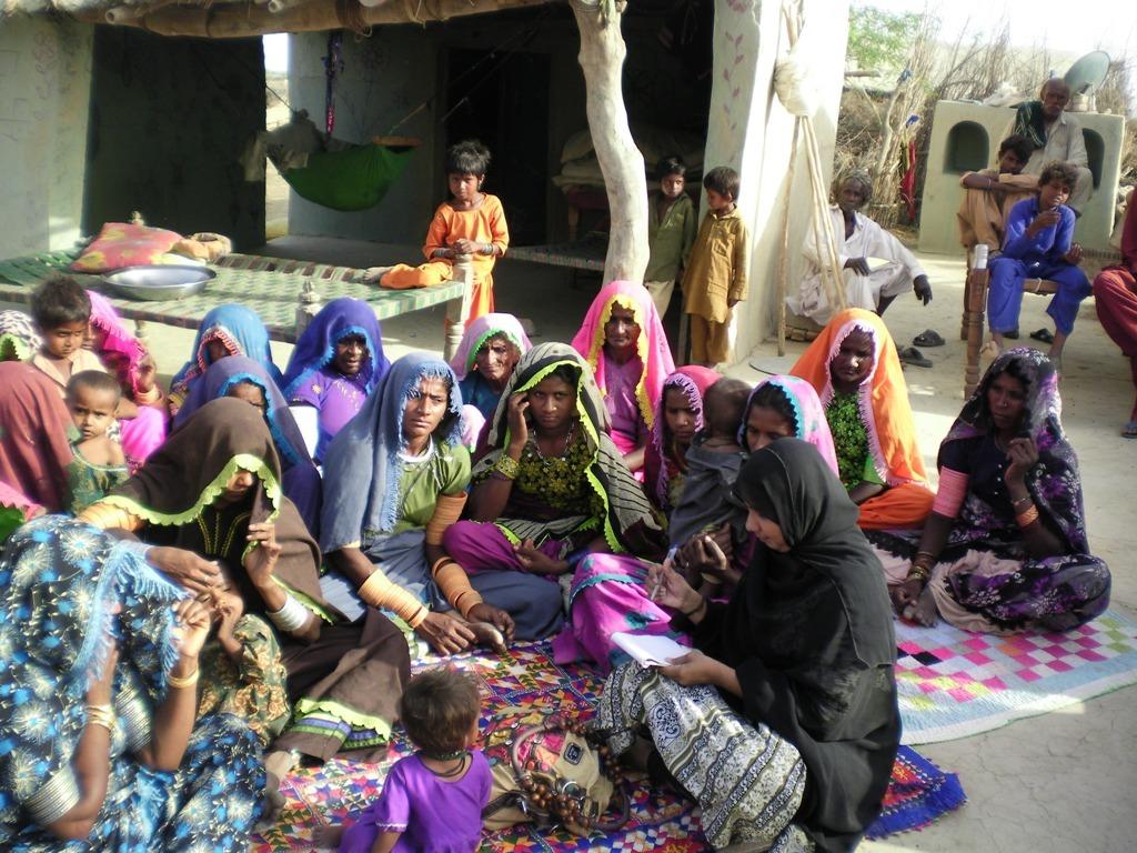 Registration of women groups