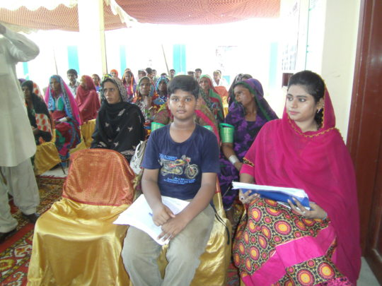 Women program for sewing center start