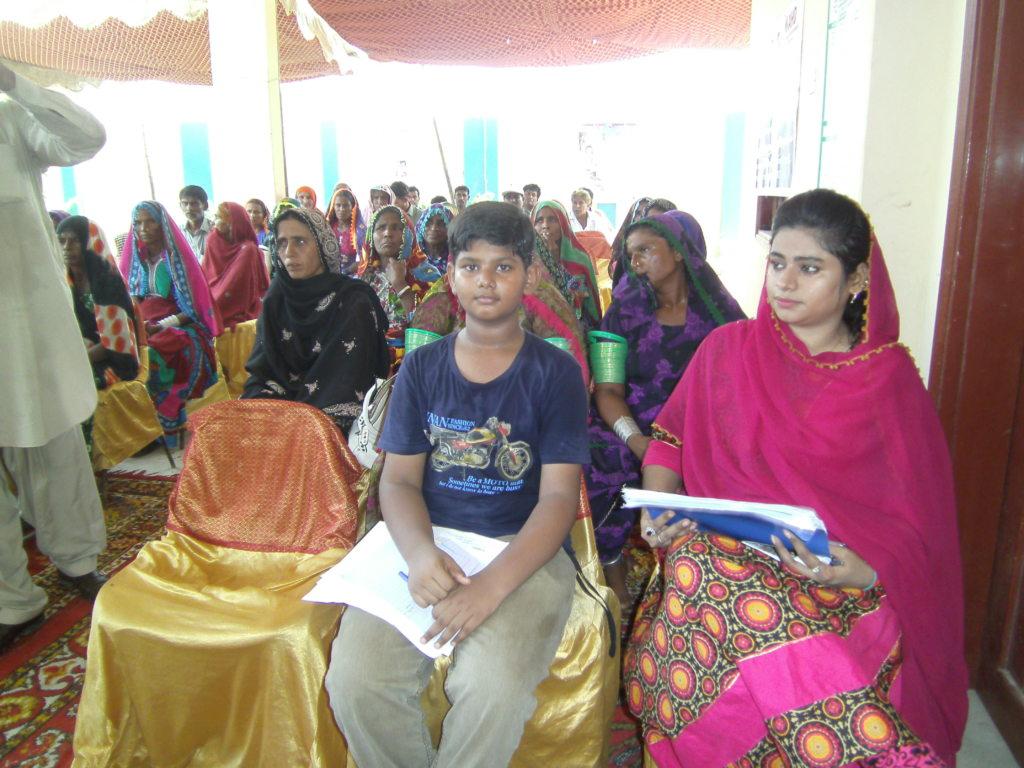 Women program for sewing center start