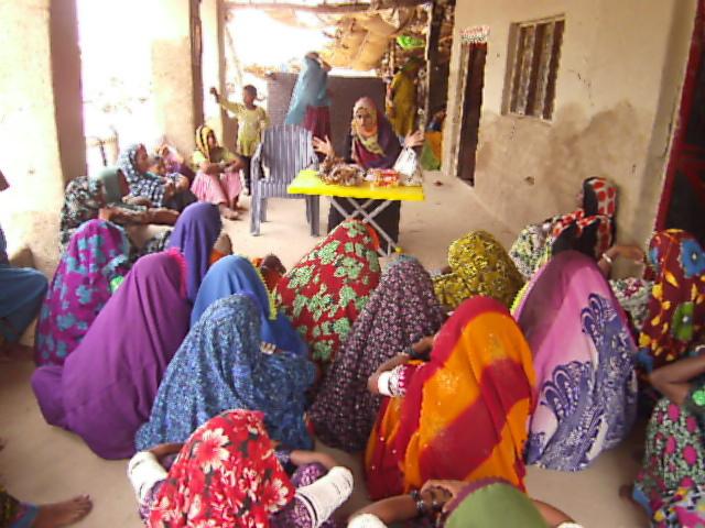 Skill trainings conducted in 80 women near Matli