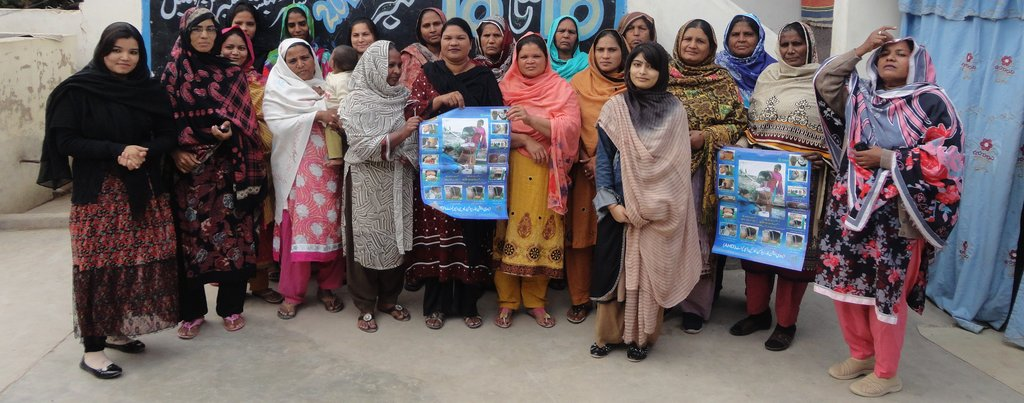 Survey conducted in women groups Sikandrabad