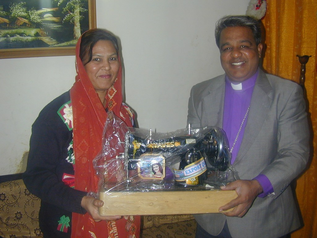 Women thanked for machines giving