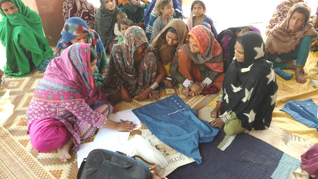 Skill Trainings for Young Women in Pakistan