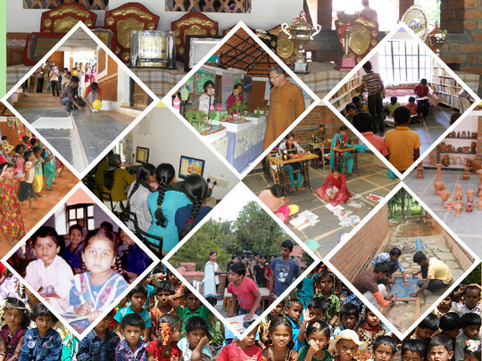 Activities of Ashraya Neelbagh School