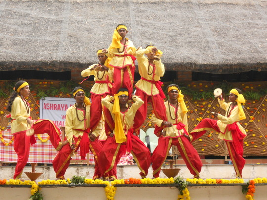I and Friends performing Kamsale on the Annual Day