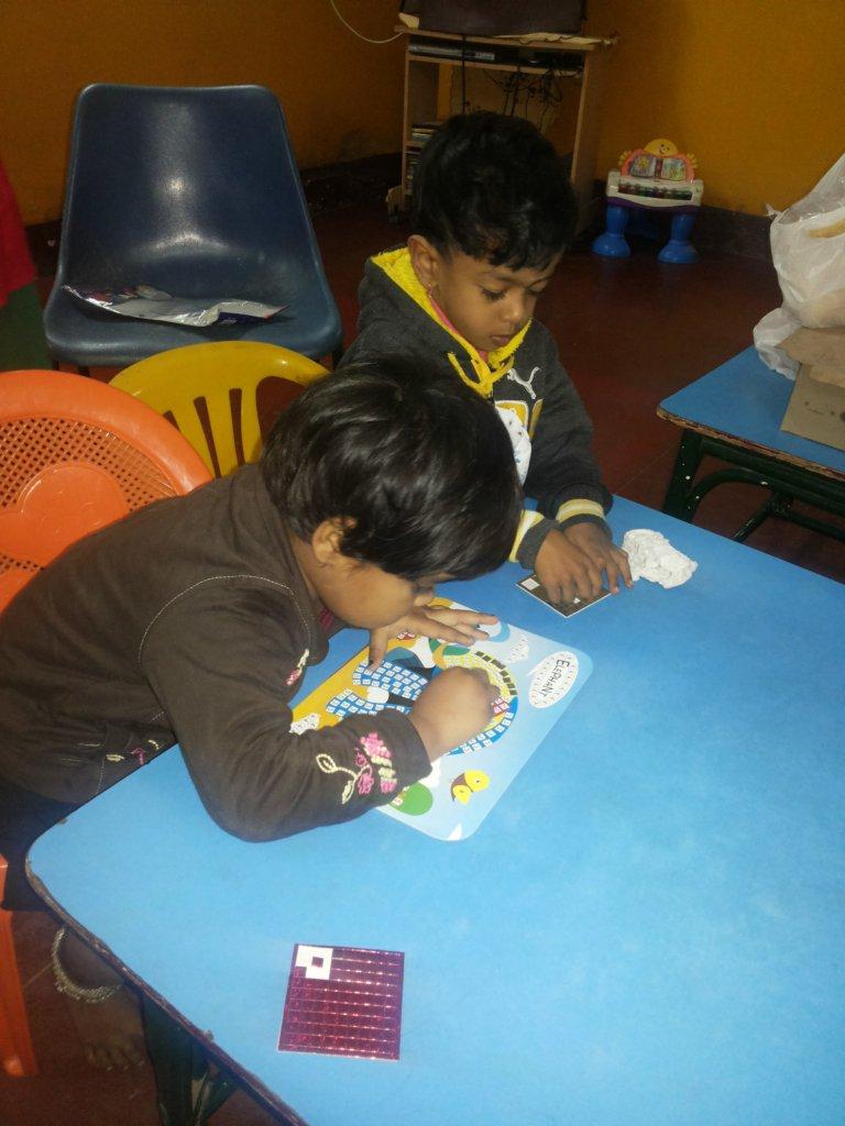 Activity of children