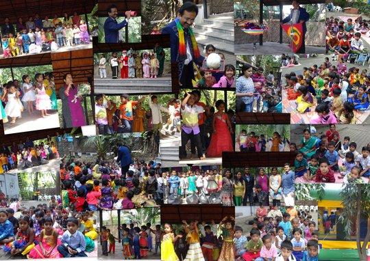 Ashraya Creches - New Year Celebrations 2015