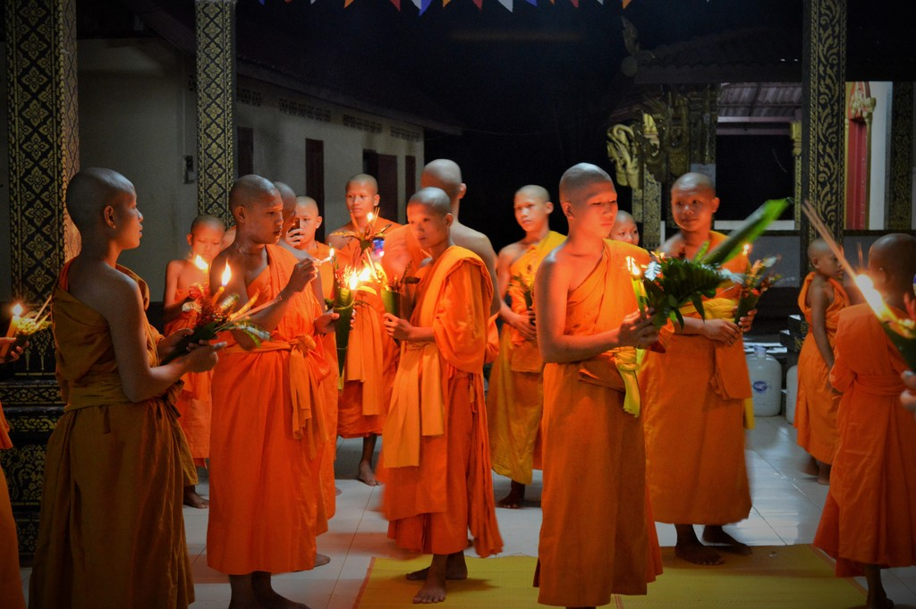 Buddist Lent ceremony