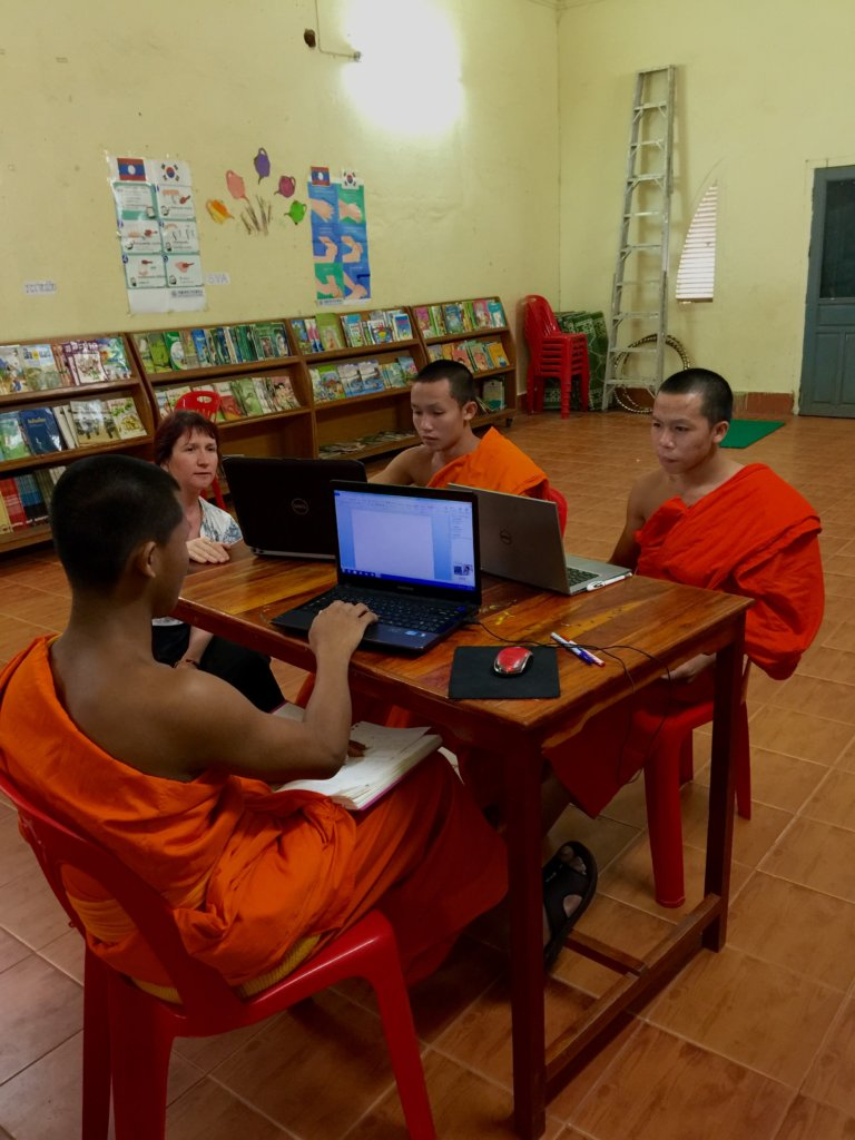 Using our new computers in the classroom