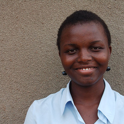 Doreen, one of our Ugandan scholars.