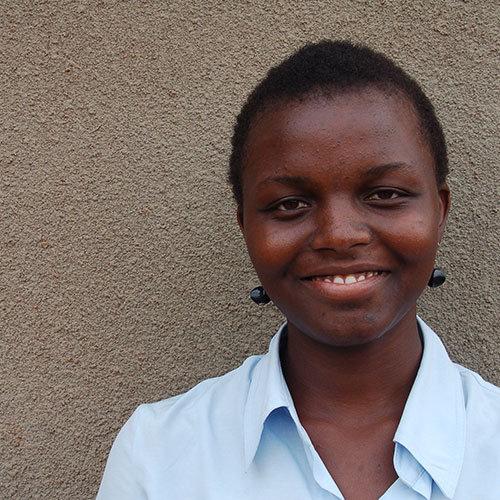 Doreen, one of our Ugandan scholars.