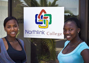 Zintathu and Vuyokasi at Northlink College