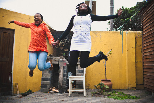 Alutho and Zinthatu Jump for Joy