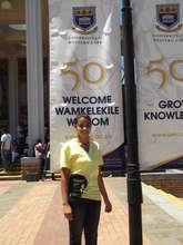 Shakeelah's First Day at UWC