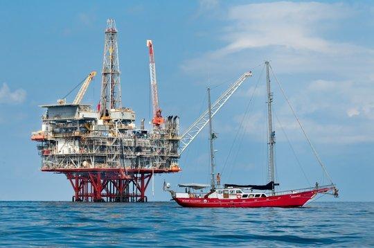 Research Vessel Odyssey in Gulf