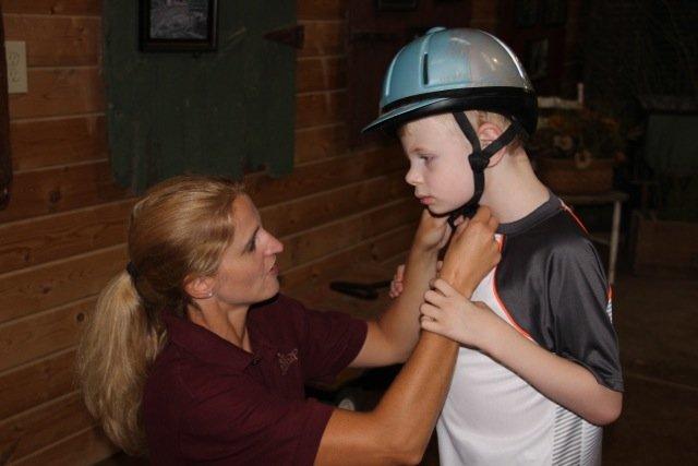 Helmet On, Ready To Go
