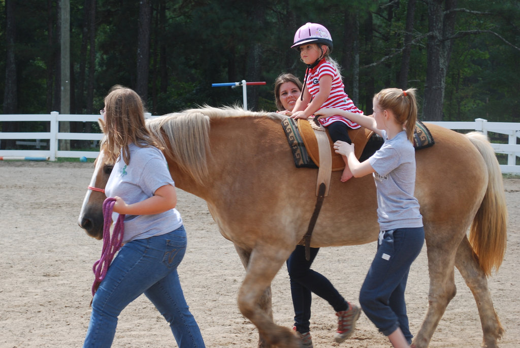 Give Equine Therapy to Children with Disabilities