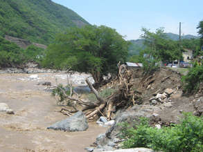 Tropical Storm Agatha Damage