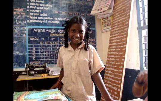 Ambika, Little girl from Govt. School