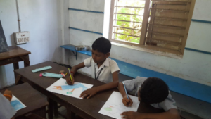 Field test with children at government school