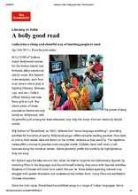 PlanetRead in The Economist (PDF)