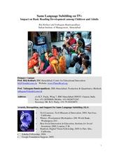 SLS Impact Study 2007 (PDF)